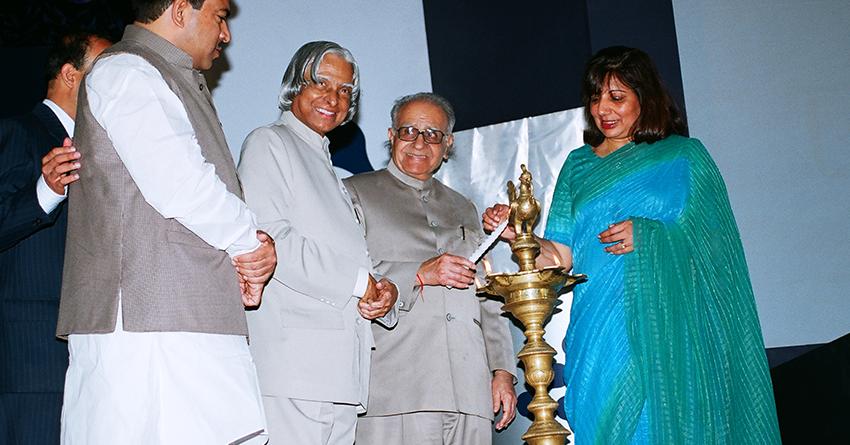 Dr APJ Abdul Kalam, Former President of India, inaugurates Biocon Park on June 6, 2006