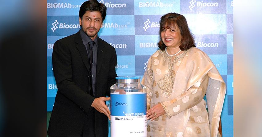 Bollywood actor Shahrukh Khan at the launch of BIOMAb EGFR®