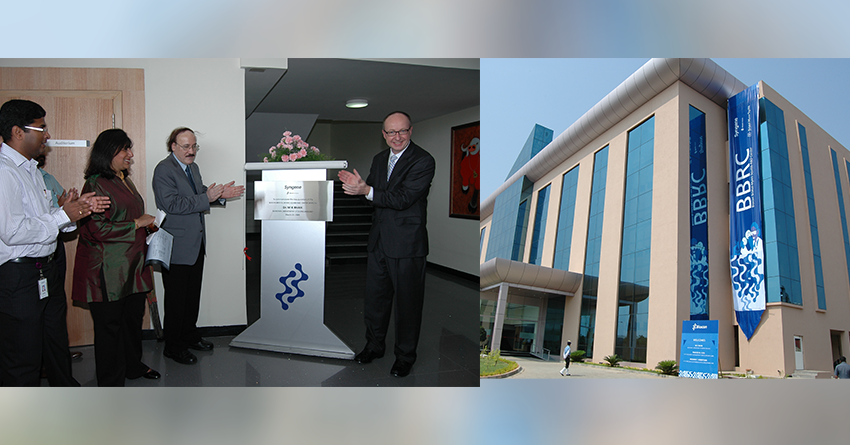 Dr M.K. Bhan, Former Secretary, Department of Biotechnology, India, inaugurates the BBRC building