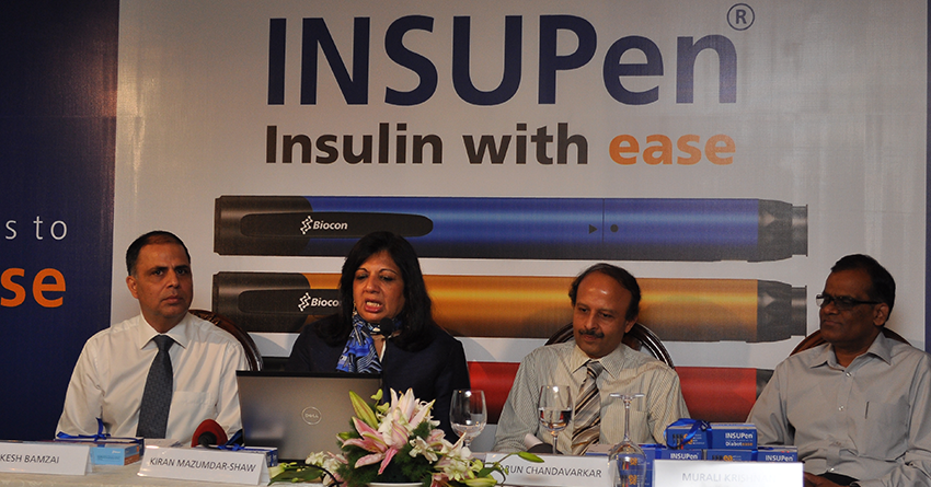 Biocon launches INSUPen®, a convenient, affordable and reusable insulin pen, for patients in India