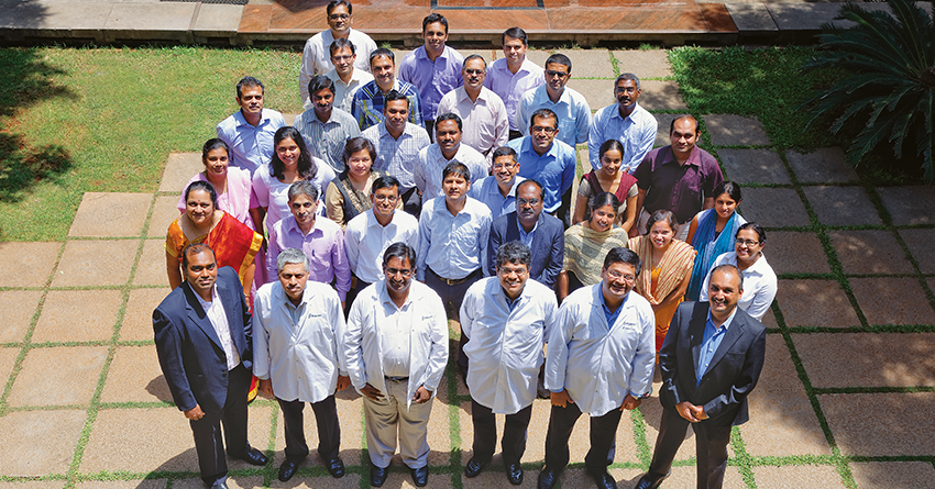 The Biocon team that was involved in taking Itolizumab from 'lab to market'