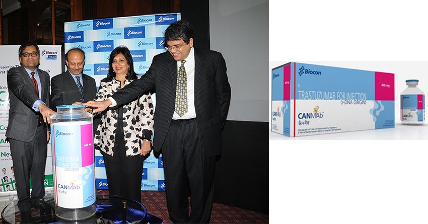 Biocon introduces world's first biosimilar Trastuzumab, CANMAb™, in India