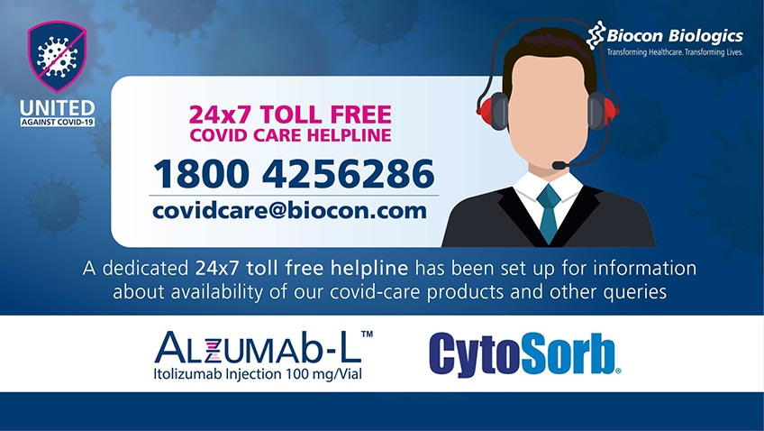 24×7 COVID Care Helpline Number